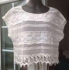 New Look Waist Length Cap Sleeve Casual Women's Tops & Shirts