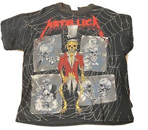 metallica vintage shirt xl Pushead  Rare