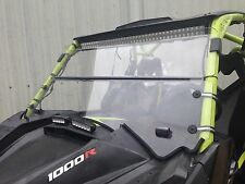 "2013-2018 Can AM Maverick Max 1000r 3/16 "" POLYCARBONATE FOLD DOWN  Windshield"