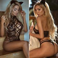 Mujer Sexy / SISSY Picardías Lencería Ropa Interior De Encaje Pijama Mono