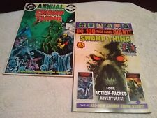 1985 Swamp Thing (2nd Series) Annual 2 FN-VF 100 page giant Walmart 1 VF