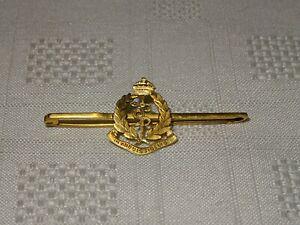 9ct Gold Military Sweetheart Brooch / Badge - Royal Army Medical Corps