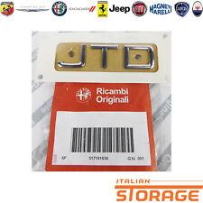 ALFA 147 SIGLA MODELLO JTD ORIGINALE 51719163