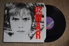 U2 War Indutstrial Rock Record lp original vinyl album