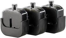 Nachfülltanks für Befülladapter - 3 Füllungen für HP 62 black / 62 black XL