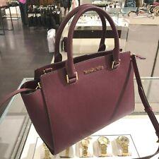 Michael Kors Women Leather Crossbody Messenger Satchel Handbag Bag Shoulder Str