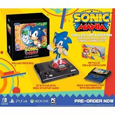 Sonic Mania: Collector's Edition (Sony PlayStation 4, 2017)