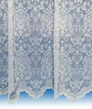 Damask Net Curtains ~ Boutique Damask Design ~ Sold By The Metre ~ Lace Voile