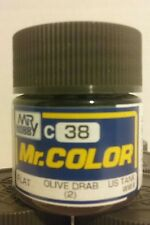 Gunze Sangyo / Mr Color acrylic paint C-38 Flat Olive Drab (2) 10ml