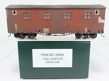 On30 Gauge Bachmann Spectrum 26996 Dining Camp Car Factory Weathered