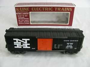 Vintage K Line O/O-27 Scale New Haven Classic Box Car K-6476 EX
