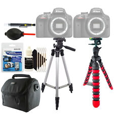 Tall and Flexible Tripod + Universal Screen Protector + Accessory Cleaning Kit