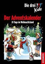 Die drei Fragezeichen ??? Kids Adventskalender 24 Tage im Weihnachtsland NEU