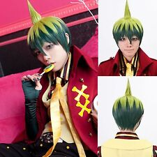 Ao no Exorcist Amaimon Prince Short Bob Cosplay Party Hair Full Wig wigs