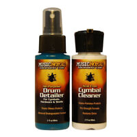 Music Nomad MN117 Drum Detailer and Cymbal Cleaner Combo Pack, 2 oz.
