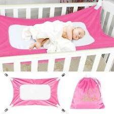 Baby Hammock Adjustable Net Portable Detachable Infant Kids Safe Sleeping Bed Us