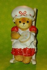Vtg Lucy And Me Gramma Bear Knitting In Rocking Chair Enesco 1982