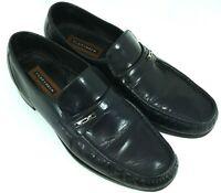 FLORSHEIM Men's Size 11 D Slip On Black Loafer Dress Shoe
