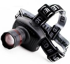 Headlamp LED Zoom 3 Mode Outdoor Biking, Camping, Hunting, Hiking, 3 MODES