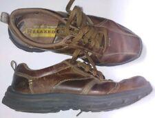 Men's Size 9 Skechers Brown Memory Foam Relaxed Fit Shoes