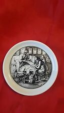 Miniature Commemorative Plate with Engraving Holland