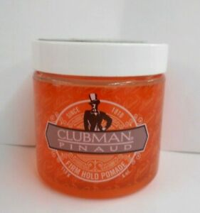 CLUBMAN PINAUD ~ Firm Hold Pomade ~ 4 fl. oz. JAR ~ Free Shipping!!