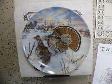 The Grouse Knowles Bradford Exchange Collector Plate