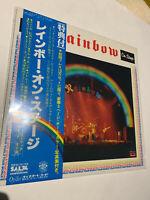 RITCHIE BLACKMORE'S RAINBOW ON STAGE DIO LP RECORD ALBUM VINYL JAPAN RELEASE