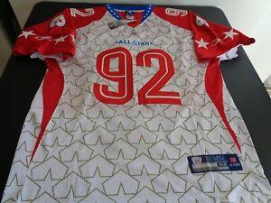 JAMES HARRISON Pittsburgh STEELERS Football 2010 Pro Bowl REEBOK Sewn Jersey 52