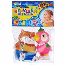 Set of 2 toys for bath - Kesha i Kot  - new