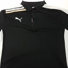 Puma Mens Dry Cell Active Top Sport T Shirt Xl Short Sleeve Black Polyester