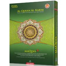 Al-Quran Al-Karim The Noble Quran Maqdis A4