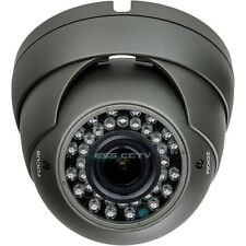 HD-SDI 2 Megapixel Security Turret Dome Camera 1080p 36 IR LED 2.8-12mm MP lens