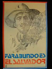 OSPAAAL cuban Political Poster Guatemala LAS MALVINAS Art 1985 Warrior /& horse