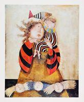 """Madone Du Lac 16"""" x 20"""" Vintage Lithograph Graciela Rodo Boulanger Fine Art"""