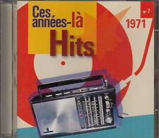 CD ALBUM CES ANNEES LA N°7 / 1971