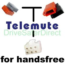 T39800 telemute pour mains libres: ISO modèles de renault