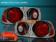 Fit For 96-00 HONDA CIVIC LX/EX/SI 2D/2DR TAIL LIGHTS 97 98 99