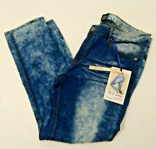 VIP Jeans Skinny Buttlifter Size 20 Bleached Distressed Denim Jeans