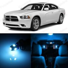 14 x Ice Blue LED Interior Light Package For Dodge Charger 2011 - 2014 + TOOL