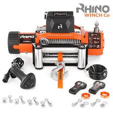 RHINO 12V 13500lb 6123KG Elektrische Seilwinde Offroad 4x4 Motorwinde
