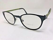 "EYEBOBS +1.00 ""MATHLETE"" Reading Glasses 90414 Black/Army Green Polish IA58"