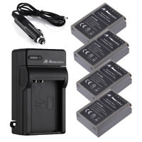 2000mAh BLN-1 Battery / Charger for Olympus BCN-1 OM-D E-M1 Pen F E-M5 Mark II