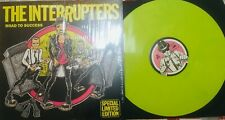 The Interrupters ‎– Road To Success LP yellow vinyl Live In San Diego and London