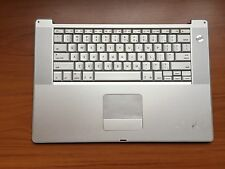 Apple PowerBook G4 15'' A1046 Top Case Keyboard Trackpad Assembly 922-6236 Grd B