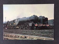 Vintage RPPC: Rail: #A21: Gresley V2 2-6-2 At Kings Cross Shed