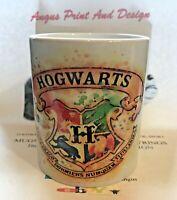 HARRY POTTER HOGWARTS GRYFFINDOR CREST MUG COFFEE CUP NEW