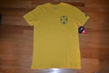 Brasil Nike Team Soccer T-Shirt Men's Size: Large (Slim FIt Style) New With Tag!