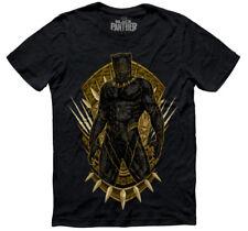 Marvel x Mascara De Latex mens Black Panther Killmonger T-SHIRT Size: Medium