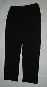 Ladies Size 10 Mountain Warehouse Black Fleece Lined Walking Trousers Pockets